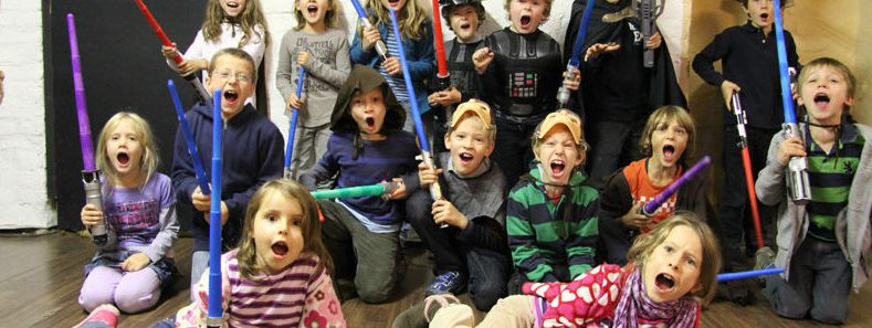 Star Wars Kinderparty
